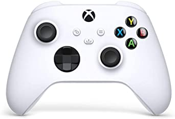 Microsoft Official Xbox Series X Wireless Controller - Robot White (Xbox Series X) - International Version