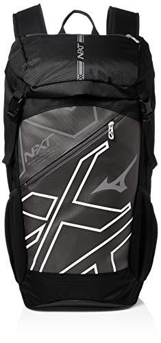 [ミズノ] NXT バックパック 約40L (現行モデル) 33JD9001 ブラック×ホワイト One Size