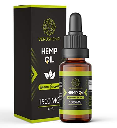 Le chanvre 1500 mg   Forte de haute qualité   Natural Ingredients   suitable for Vegans & Vegetarians 10ml