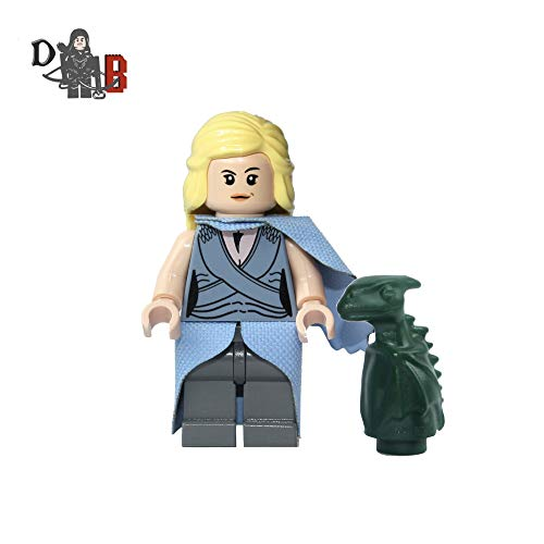 Demonhunter Bricks Game of Thrones Daenerys Targaryen Stormborn mit Angepasstem Rock / Umhang