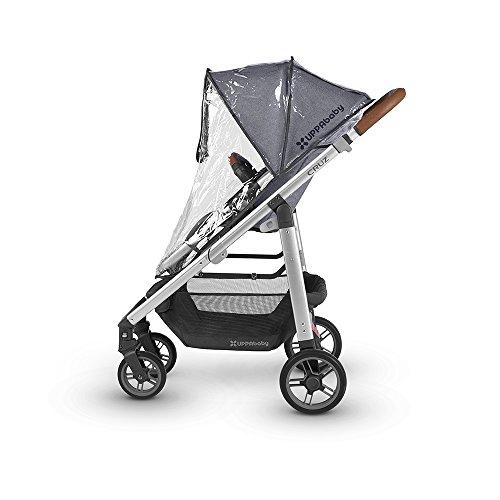 2018 UPPAbaby Cruz Stroller -Jordan (Charcoal Melange/Silver/Black Leather)