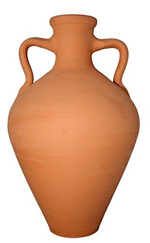 Amphore d'argile pour purifier, refroidir et énergiser l'eau du robinet