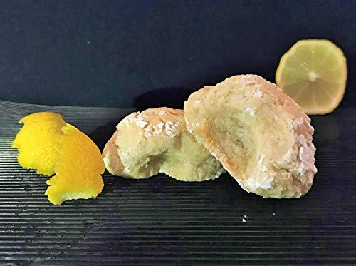 Amaretti Morbidi Limone - frisch & handwerklich hergestellt - außen knackig und innen weich - Italienisches Mandelgebäck - Marzipangebäck - 500g