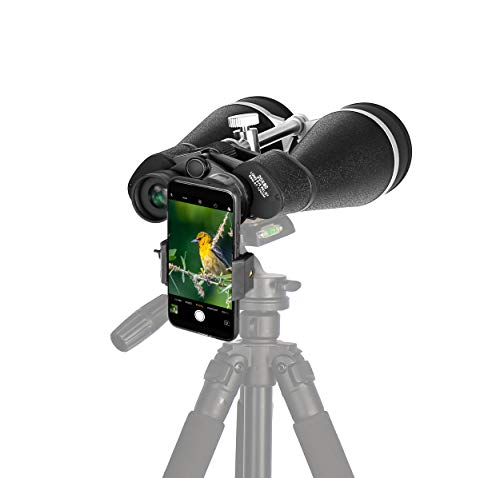 Gosky Skyview 20x80 Astronomy Binoculars, Giant Binoculars with Digiscoping Adapter - for Moon Observation Bird Watching Sightseeing Shooting Star Gazing