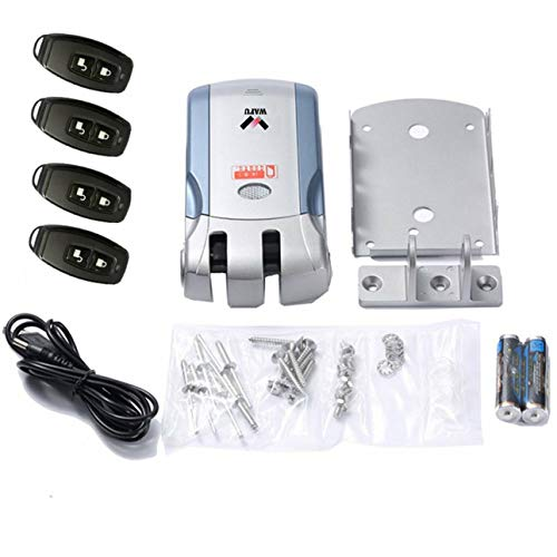 Ba30DEllylelly Control Remoto inalámbrico Cerradura electrónica Cerradura de...
