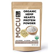 Organic Hemp Heart Protein Powder-74% | 22 Grams Protein Per Serving I Cold Processed & Stored | Made from The Hemp Heart | (6 LBS (2 X 3 LB Bags)