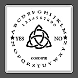 12 X 12 Stencil Template Round/Circle Ouija Board w/Triquetra Witch/Ghost/Celtic/Wiccan