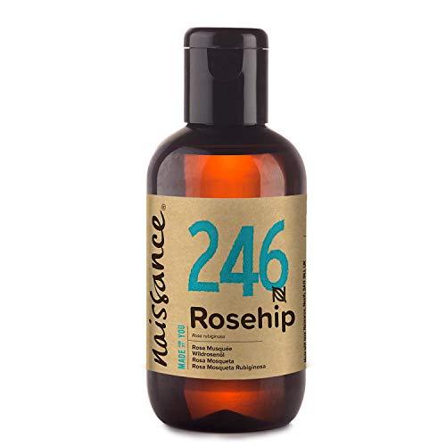 Naissance Aceite Vegetal de Rosa Mosqueta Rubiginosa n. º 246 – 100ml - Puro, natural,...