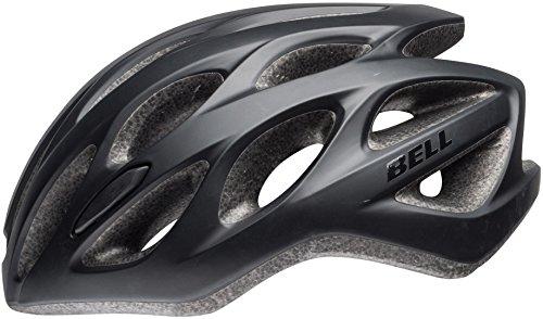 Bell Casco de Bicicleta Unisex Tracker R, Color Negro Mate, Talla única