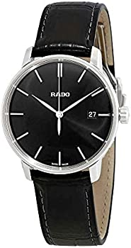 Rado Couple Black Dial 38 mm Watch