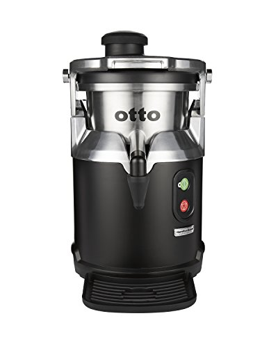 Hamilton Beach Commercial Otto The Centrifugal Juice Extractor, 2 Year Warranty, 120 Volt, 1200 Watt, Stainless Steel, Quiet Induction Motor, BPA Free Parts (HJE960),black