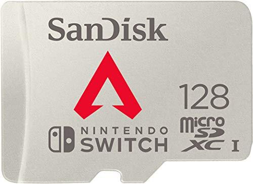 microSDXC 128GB サンディスク Nintendo Switch用 microSDXCカード JNHオリジナルSDアダプター付 [並行輸入品]