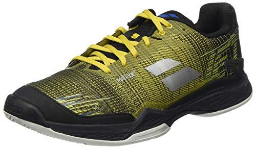 Babolat Herren Jet MACH II Clay Men Tennisschuhe, Dark Yellow/Black, 44.5 EU
