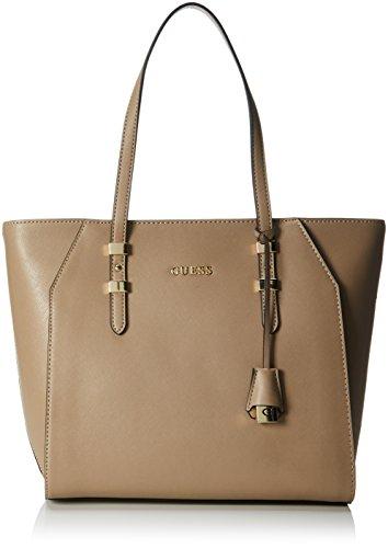 Guess Damen Handtaschen Braun (Tau) 10 cm