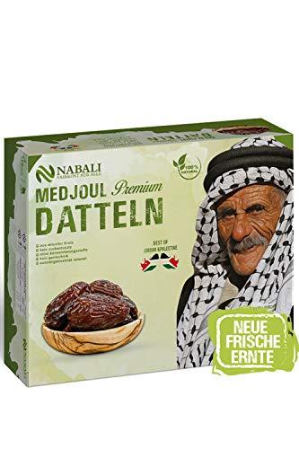 NABALI FAIRKOST FÜR ALLE Medjool Medjoul Datteln das Beste aus Palästina & Jordanien - 100% naturell vegan aromatisch frisch I Medium Size (5)