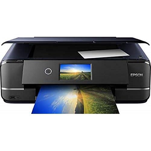 Epson Photo XP-970 Stampante Fotografica A3 3-in-1, Dotata di Wi-Fi ed Ethernet, Stampa Facile da Mobile, Doppio Vassoio, Compatta e Versatile