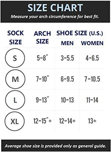 SB SOX Manchons De Compression Pour Les Hommes Et Les Femmes (Noir, Large)