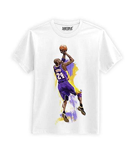 ARTIST Kobe Bryant NBA Fan Art Memories 24 Black Mamba (M)