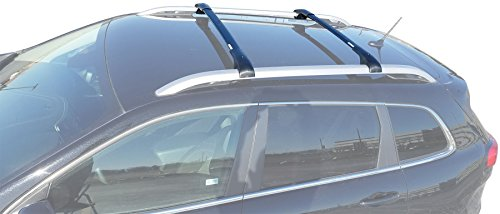 BRIGHTLINES Aero Cross Bars Roof Racks Luggage Rack Compatible with 2014-2020 Jeep Cherokee