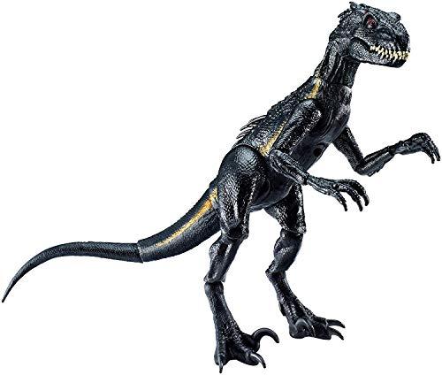 Jurassic World, Indoraptor Dinosauro, Protagonista del Film, Colore Grigio Scuro, 16.5 cm, Giocattolo per Bambini di 3 + Anni, FVW27