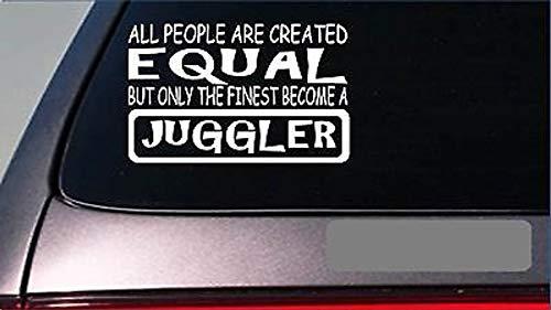 Juggler Gelijke Sticker *G669* 8