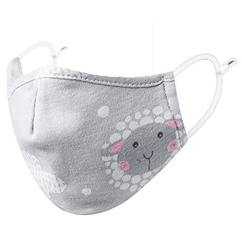 DWGYQ Kindermasken staubdicht atmungsaktive Baumwolle Herbst und Winterschutz kann gewaschen Werden,M1