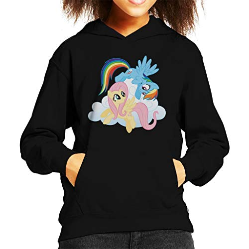 My little Pony Fluttershy and Rainbow Dash Kid's Hooded Sweatshirt