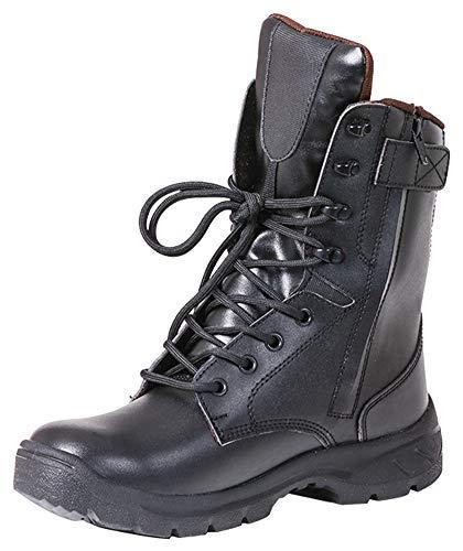 Knöchelstiefel, leichte Taktische Stiefel, Trainingsschuhe, Outdoor-Arbeit, wasserabweisend, Schwarz, EU38/US6