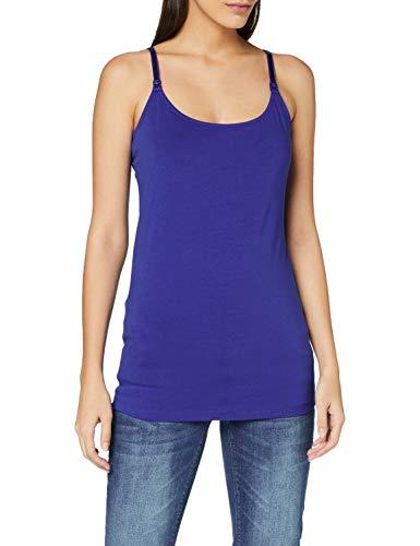 Esprit Maternity Spaghetti Top Nursing Camisa Cami, Azul eléctrico-441, 46 para Mujer