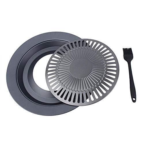 Sartén más grande, sartén para asar de servicio pesado Delaman, tostador antiadherente, utensilios de cocina, disco para asar, accesorios de cocina