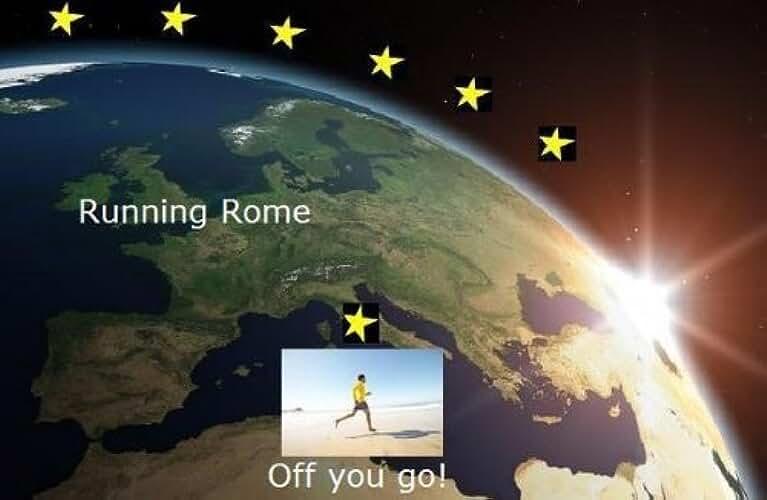 Running Rome (Running the EU Book 20) (English Edition)