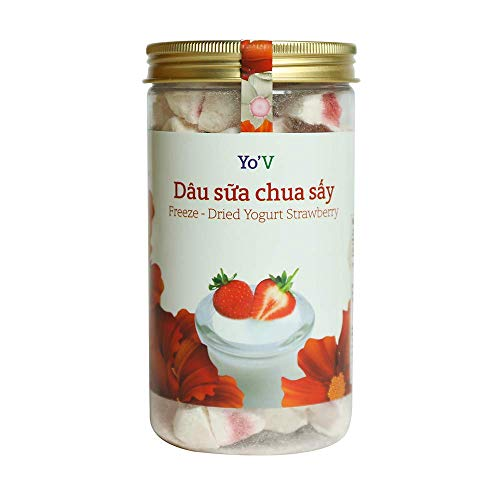 Freeze Dried Yogurt- Strawberry, LARGE-90G