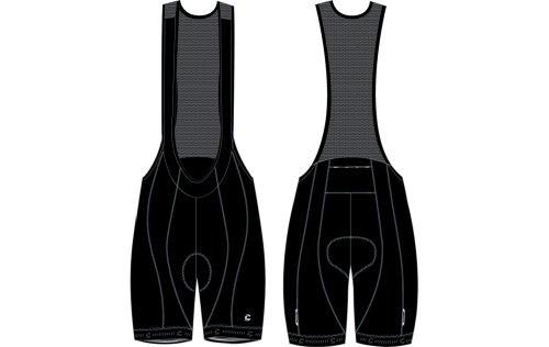 Cannondale Herren Trägerhose Kurz Bibshort Synapse, Black, S, 9M254S/BLK