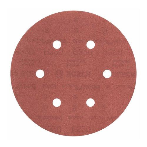 Bosch Professional Schleifblatt für Exzenterschleifer Holz und Farbe (50 Stück, Ø 150 mm, Körnung 320, C470)