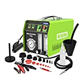 MR CARTOOL T130 Automotive EVAP Smoke Machine, Dual Mode 12V Car Fuel Pipe System Leak Tester Detector with Oil Level and Adjustable Flowmeter for All Vehicles