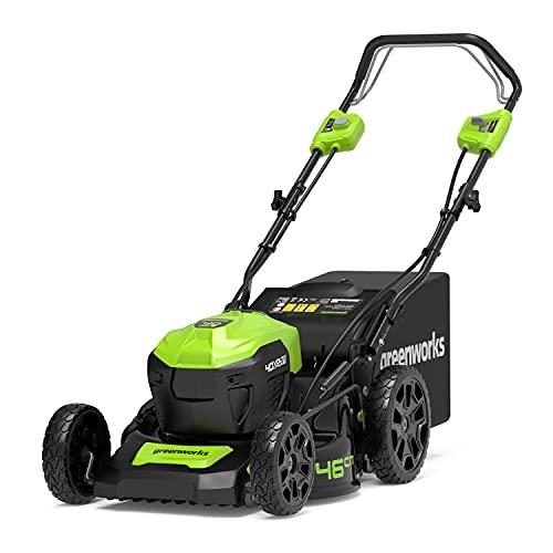 Greenworks Tools Cordless Lawn Mower GD40LM46SP(Li-Ion 40 V 46 cm...