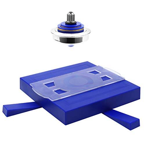 Nargut Niños Magnetic Spinning Top Classic Levitation Gyro Gyroscope Suspendido OVNI Flotante Levitating Toy