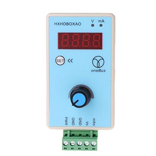 Dabixx Salida de Mano del generador de señal de Voltaje Actual Simulador analógico Salida 0-10V 0-20mA