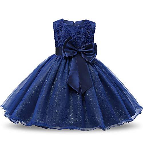 HPPLGirl Bloem Prinses Feestjurk Meisje Jurk Zomer Kinderkleding Bruiloft Verjaardag Babyjurk Figuur 3-12 Jaar Oude Babymeisje Kleding 0218