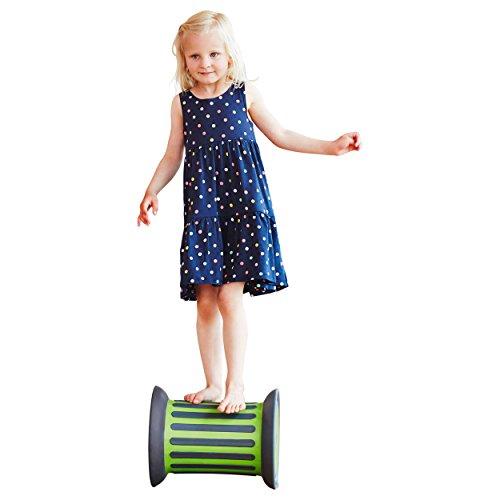 GONGE Balancier-Rolle - Kinder balancieren Spaßspiele Pausenspiele Balance Koordination Sport Spiele Schule Schulsport Sportunterricht Training