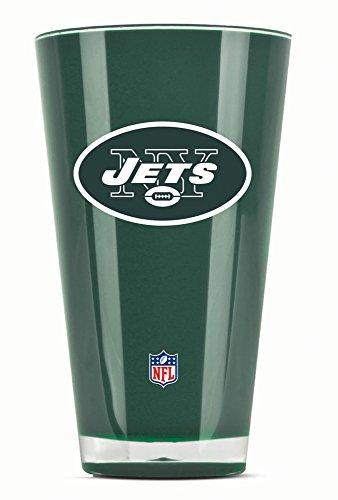 NFL New York Jets 20oz Insulated Acrylic Tumbler