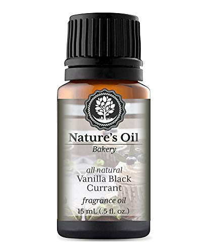 Vanilla Black Currant Fragrance Oil (15ml) For Diffusers, Soap Making, Candles, Lotion, Home Scents, Linen Spray, Bath Bombs, Slime