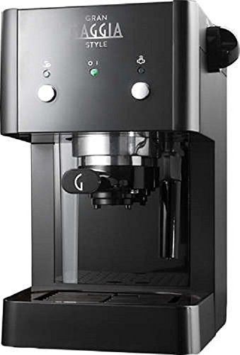 Gaggia GranGaggia Style Black Macchina Manuale per il Caffè Espresso, per...