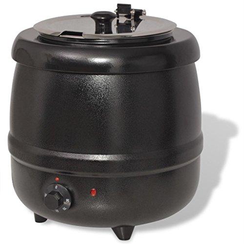 vidaXL Bollitore Elettrico per Zuppe 10 L Zuppiera Tè Elettrodomestici Cucina