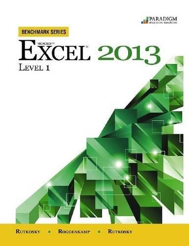 Microsoft Excel 2013: Level 1 (Benchmark)