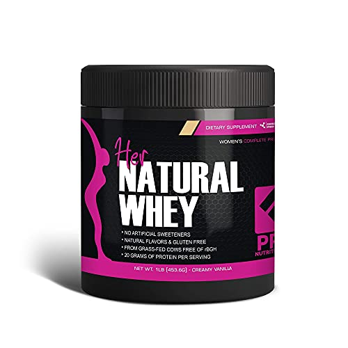 Her Natural Whey Protein Powder for Women - Supports Weight Loss &...