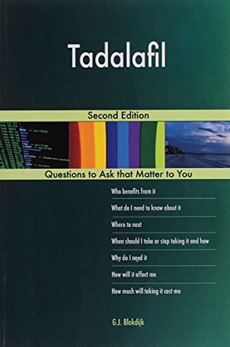 Tadalafil; Second Edition