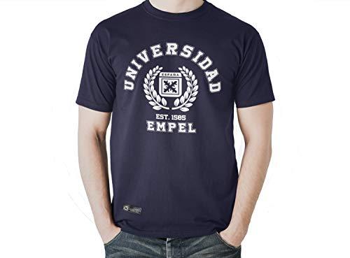 Camiseta de España Universidad de Empel (M, Azul)