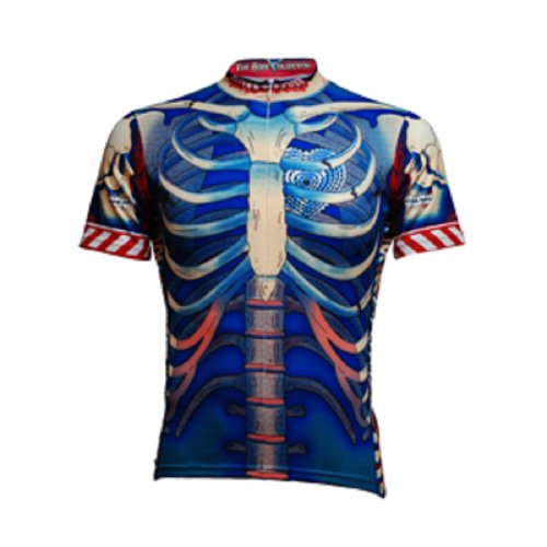 Primal Wear 2012 Men's Bone Collector Original Short Sleeve Cycling Jersey - BCJER (S)