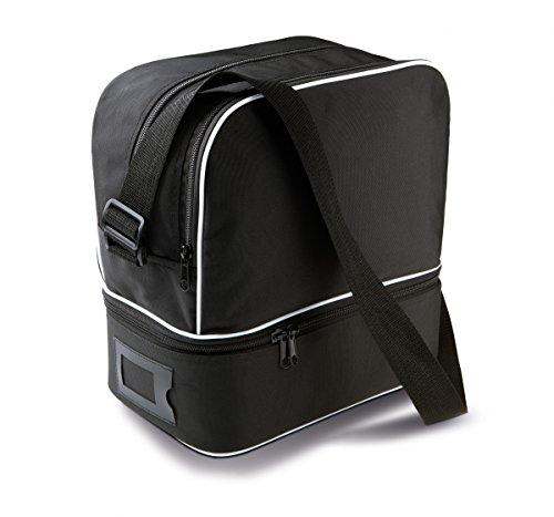 Bolso bandolera de petanca con 6 bolas – Color negro – Talla única